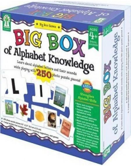 Board Game : Big Box Of Alphabet Knowledge