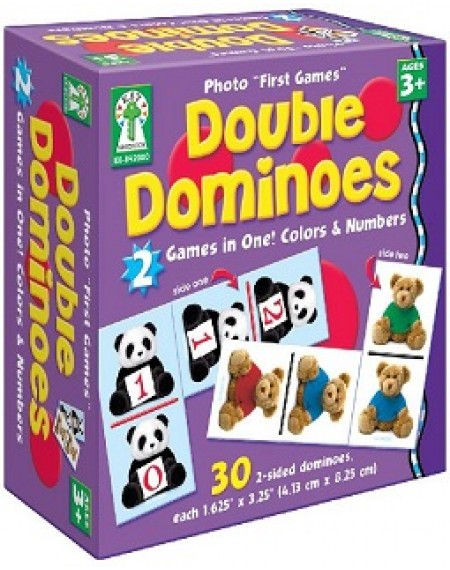 Board Game  : Double Dominoes Coours & Numbers