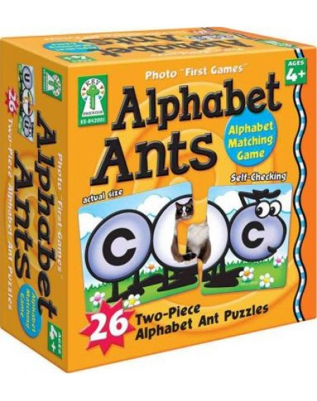Board Game : Alphabet Ants
