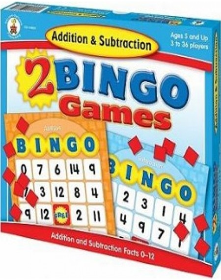 Board Game : Addition And Subtraction Bingo