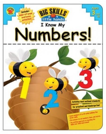 Brighter Child I Know My Numbers!, Grades Preschool - K