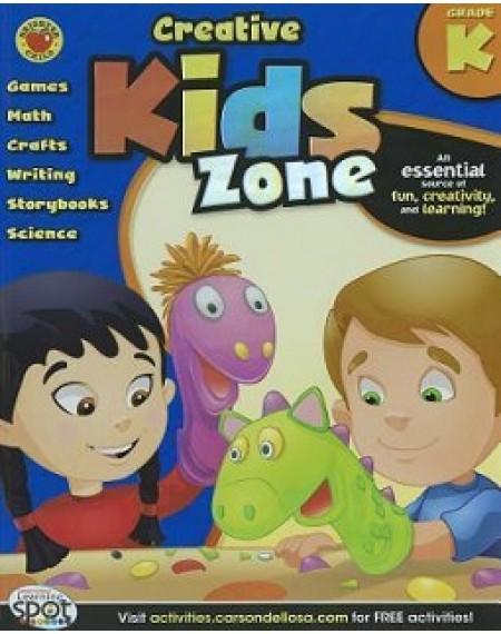 Creative Kids Zone Activity Book Grade K