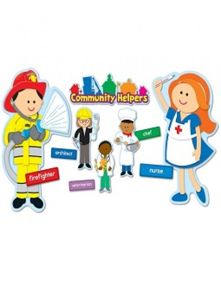 Bulletin Board Set : Community Helpers