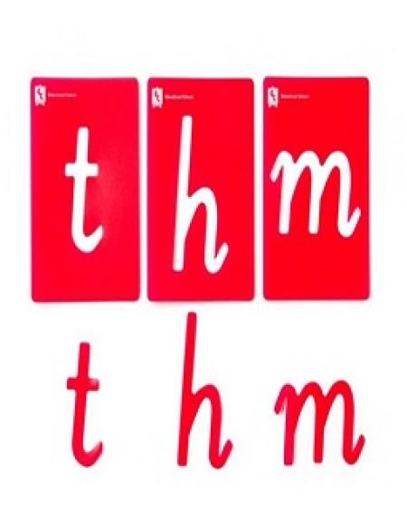 Alphabet Lower Case Stencils Pkt 26 (Vic,WA,NT)
