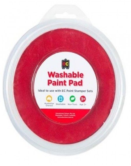Paint Stamper Pad Orange 15cm Diameter