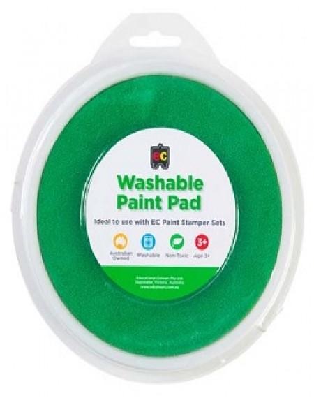 Paint Stamper Pad Green 15cm Diameter