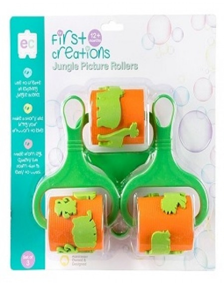 Jungle Picture Rollers (set of 3)