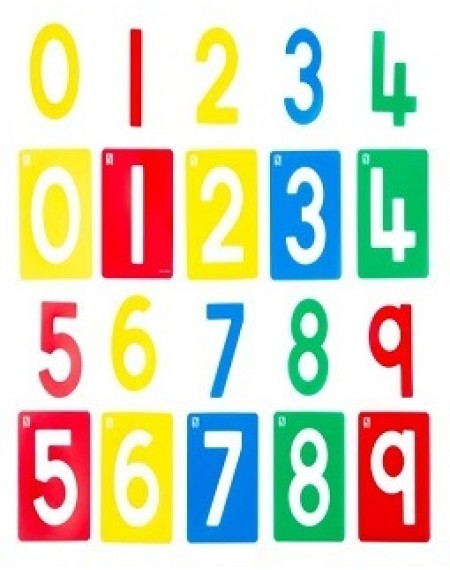 Stencil Numbers 0 - 9 Set Of 10