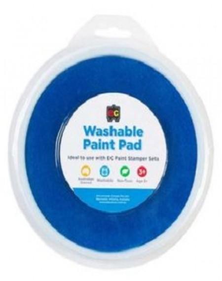 Paint Stamper Pad Washable Blue 15cm