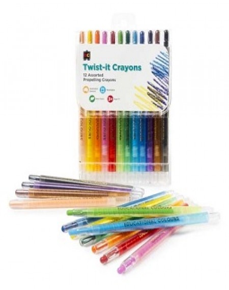 Twist It Crayons Pk Of 12