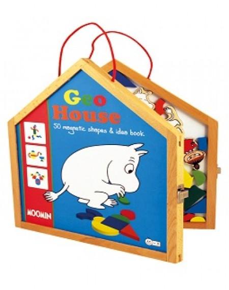 Moomin GEO House Magnetic Geo