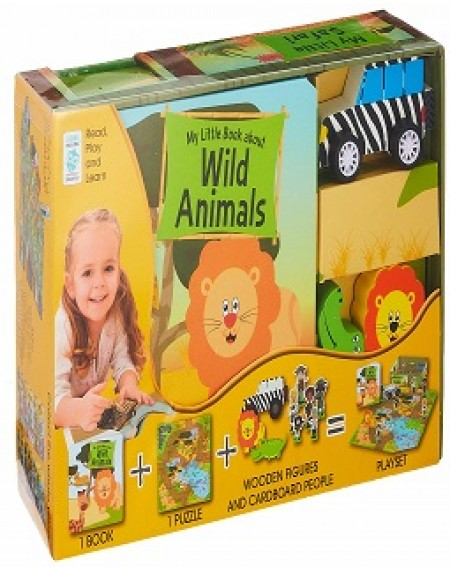 My Little Village: My Little Book for Wild Animals