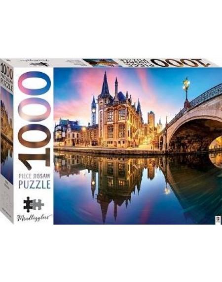1000 Piece Jigsaw Puzzle : Gent, Belgium