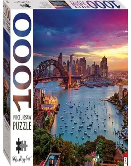 1000 Piece Jigsaw Puzzle  :  Sydney Harbour Bridge, Australia