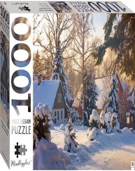 1000 Piece Jigsaw Puzzle : Spindleruv Mlyn, Czech Reppublic