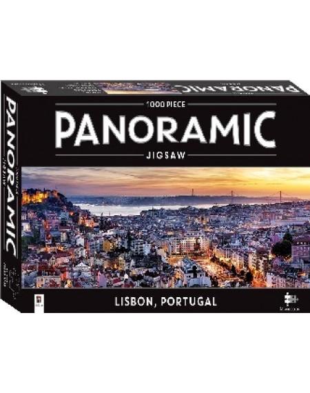 1000 Piece Panoramic Jigsaws : Lisbon