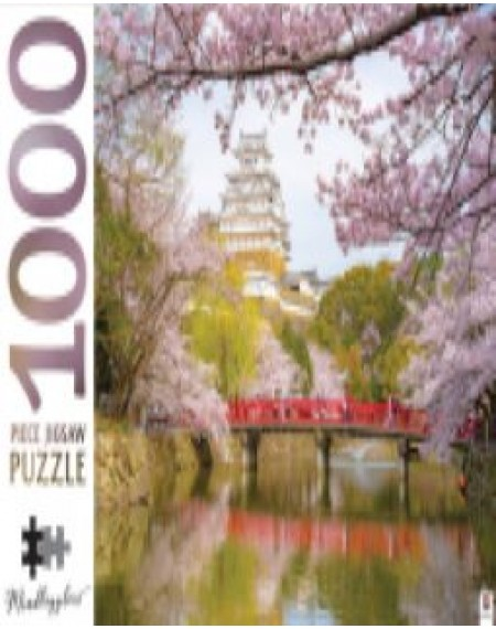 1000 Piece Jigsaw Puzzles: Himeji Castle Japan