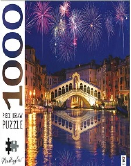 1000 Piece Jigsaw Puzzles: Rialto Bridge Venice Italy