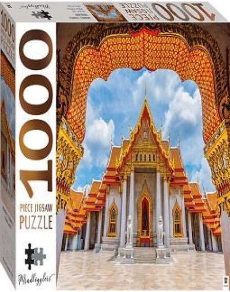 1000 Piece Jigsaw Puzzles: Marble Temple Thailand