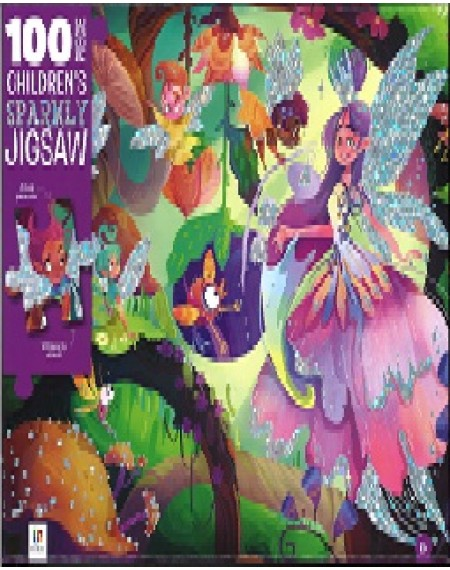 100 Piece Children's Jigsaw With Treatment Magical Fairies