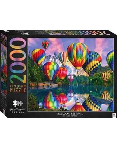 2000 Piece Jigsaw Puzzles : Balloon Festival