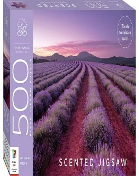Elevate Scented 500 Piece Jigsaw : Lavender Fields