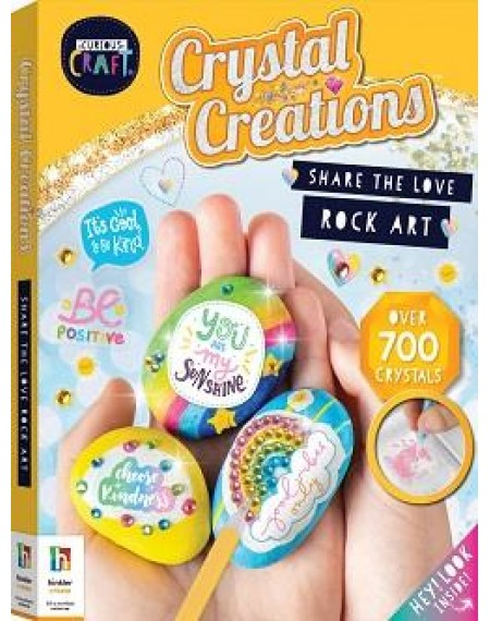 Curious Craft Crystal Creations Share The Love Rock Art