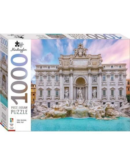 1000 Pc Jigsaw Puzzle :  Trevi Fountain, Italy