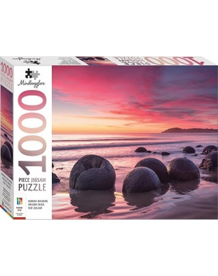 1000 PC Jigsaw Puzzle : Koekohe Beach, New Zealand