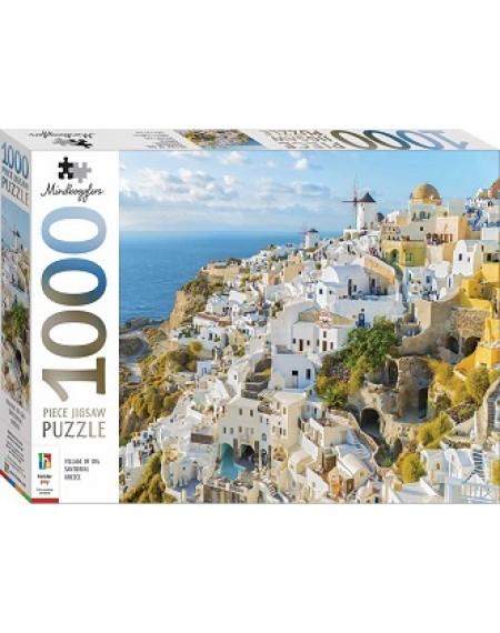 1000 Pc Jigsaw Puzzle : Santorini, Greece