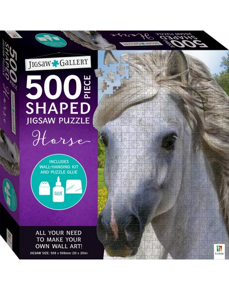 Jigsaw Gallery 500 Piece Shaped Jigsaw: Horse