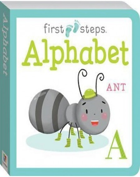 First Steps Large Board Book: Alphabet