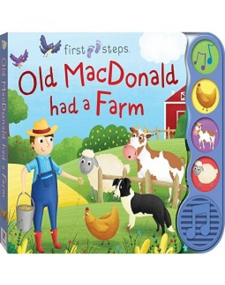First Steps 4-Sound Books : Old MacDonald