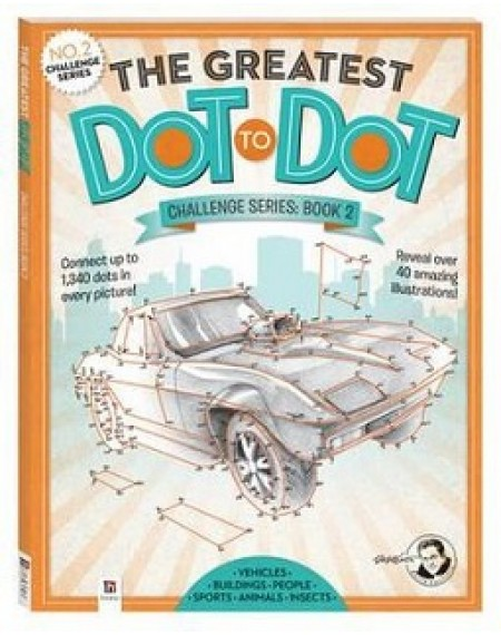 Greatest Dot-to-Dot Challenge Series Book 2