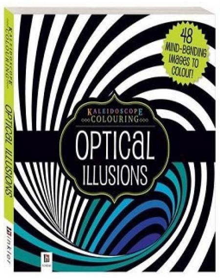 Kaleidoscope Colouring : Optical Illusions