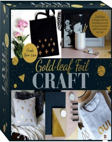 Gold-Leaf Foil Craft