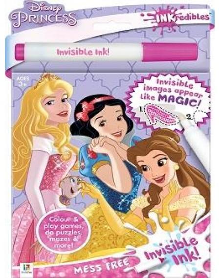 Inkredibles Disney Princesses Invisible Ink (2019 Ed)