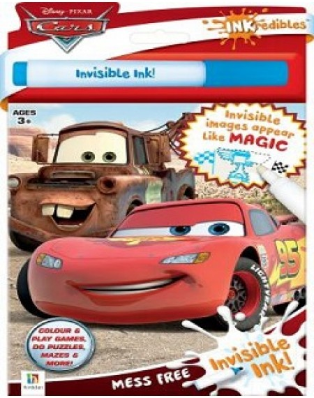Inkredibles Disney Cars Invisible Ink