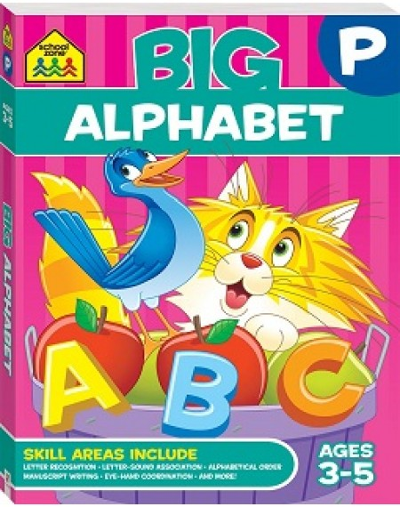 School Zone Big Alphabet Workbook