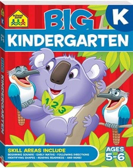 School Zone Big Kindergarten Workbook