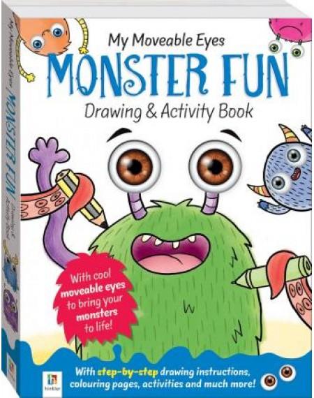My Moveable Monster Fun Drawing & Activity Book