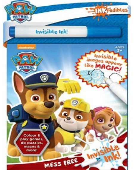 Inkredibles Invisible Ink: PAW Patrol