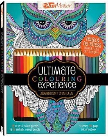 Art Maker Magnificent Creatures Colouring Kit (portrait)
