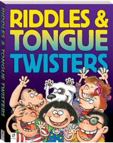 Cool Tongue Twisters and Riddles (large, 160pp)