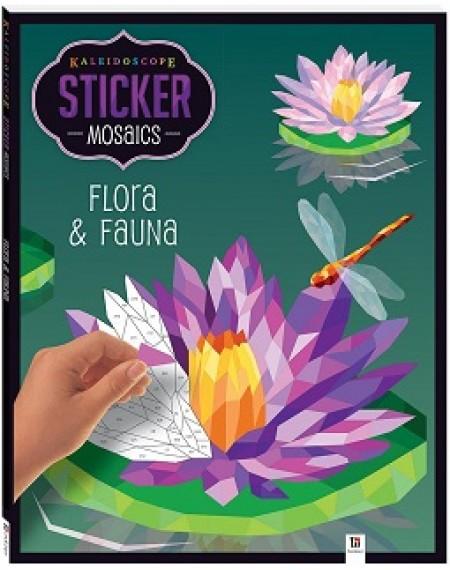 Kaleidoscope Sticker Mosaics: Flora and Fauna