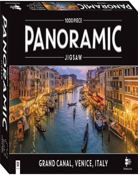 1000 Piece Panoramic Jigsaw Puzzle Grand Canal, Italy