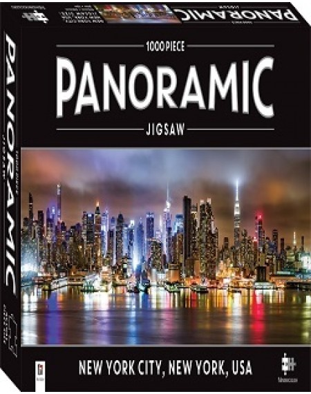 1000 Piece Panoramic Jigsaw Puzzle New York City, New York