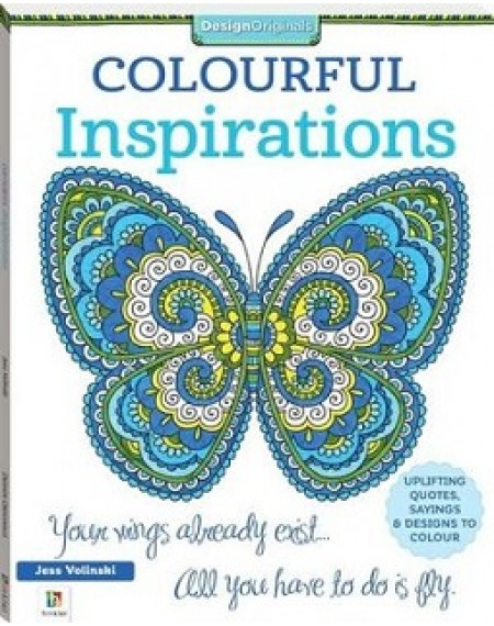 Colourful Inspirations Colouring Book