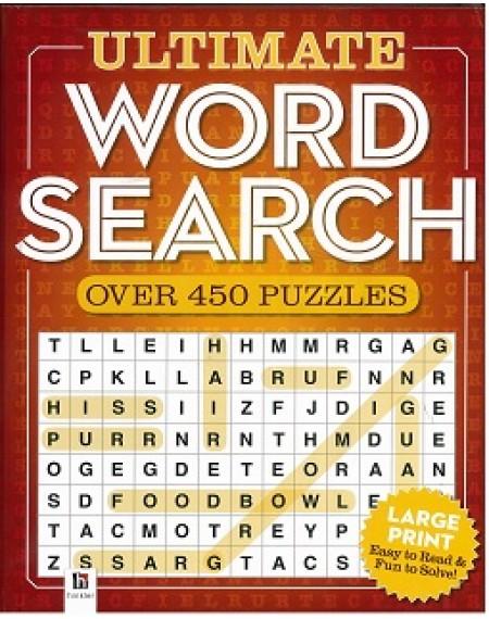 Hardback :Ultimate Word Search