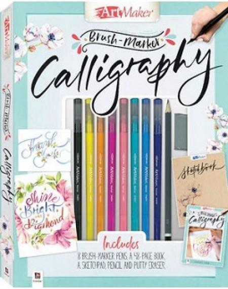 Artmaker Brush Marker Calligraphy Kit